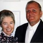 Nancy Davis with husband Sam Davis