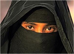 Islamic full-face veil