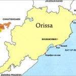 Orissa state map