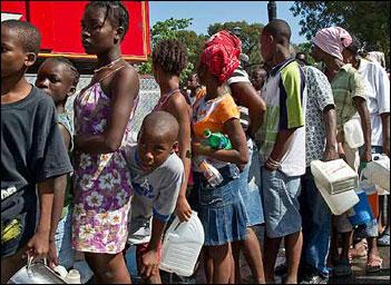Haiti relief work