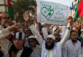 Pakistani-protesters